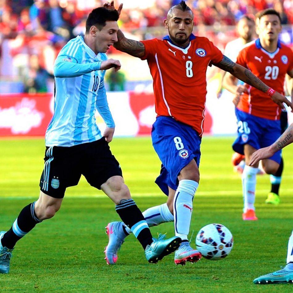 Messi gambeteando rivales