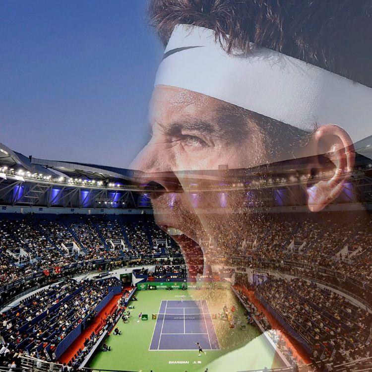 Del Potro recibió una invitación y jugará el Masters 1000 de Shangai