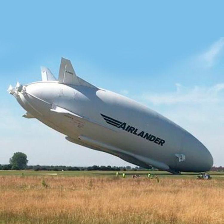 El accidente que sufrió el Airlander 10, la aeronave más grande del mundo