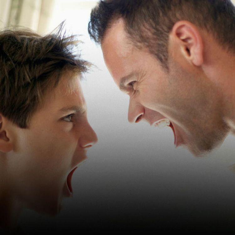Los niños aprenden del ejemplo de los padres; si gritas, gritarán.