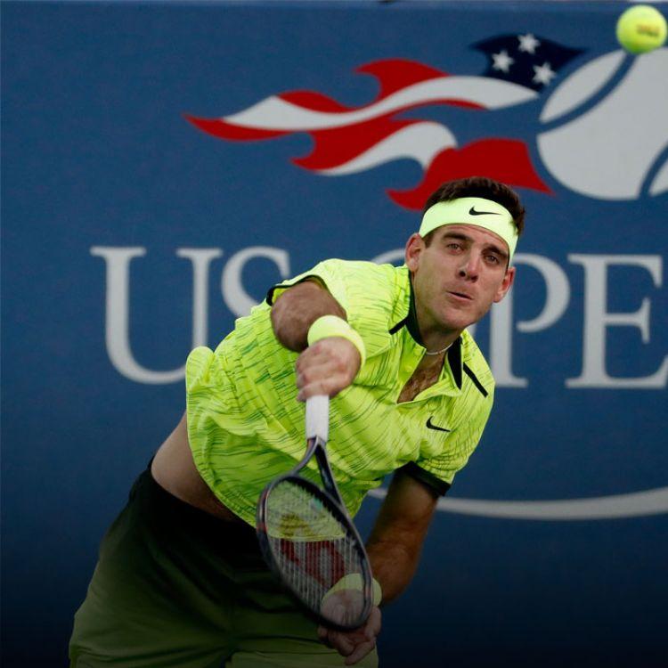 El tandilense mostró un tenis sólido y, por la tercera ronda,venció al español David Ferrer por 7-6, 6-2 y 6-3 para avanzar a los octavos de final.