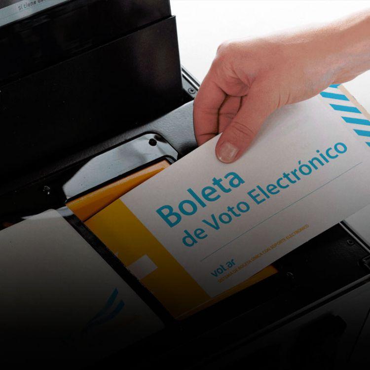 Se busca incluir la implementación del voto electrónico para todo el país.