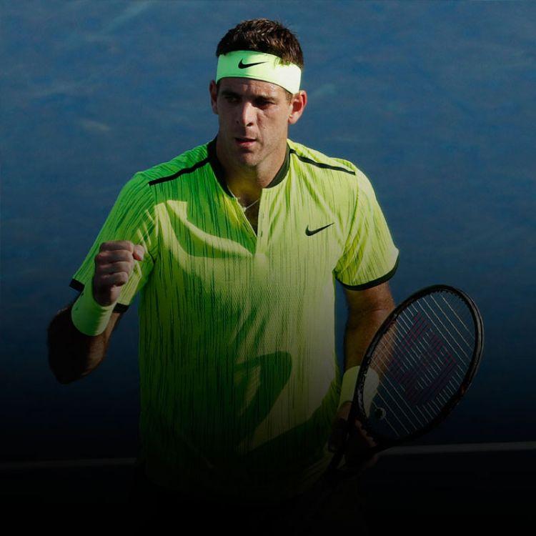 Del Potro lo venció cuatro veces, la última este año en la segunda ronda de Wimbledon, pero también perdió en dos ocasiones.