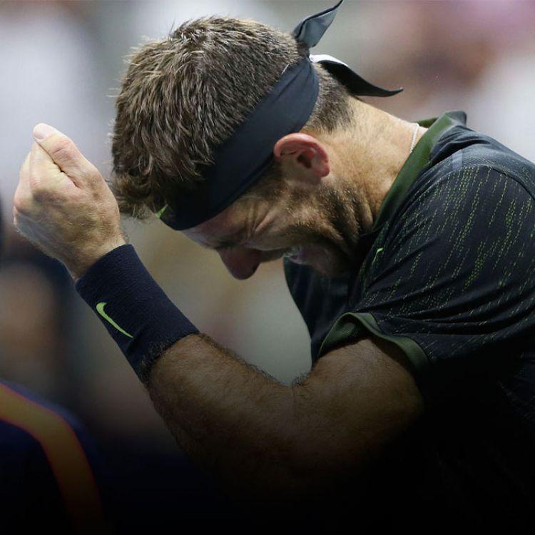 """El tenista argentino reconoció que físicamente no estaba para jugar un partido tan largo, """"y menos en unos cuartos de final de un Grand Slam""""."""