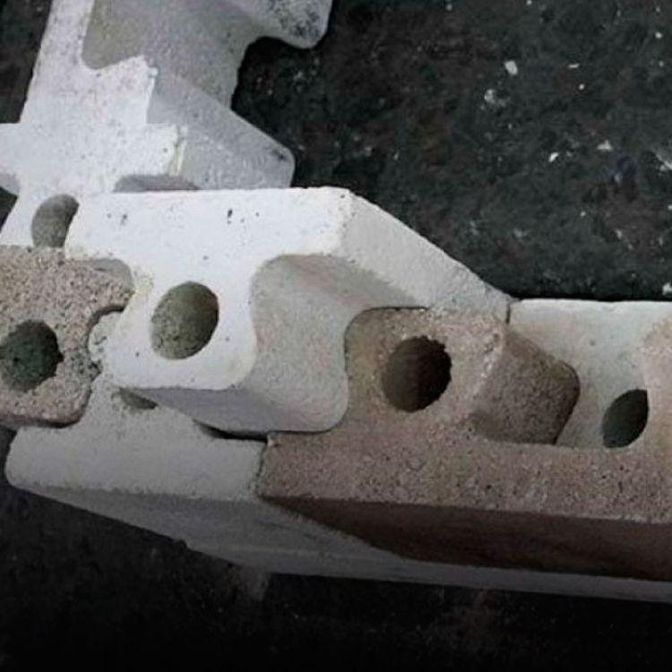 Este novedoso sistema no requiere ninguna cimentación especial, y reduce un 50% el tiempo de construcción.
