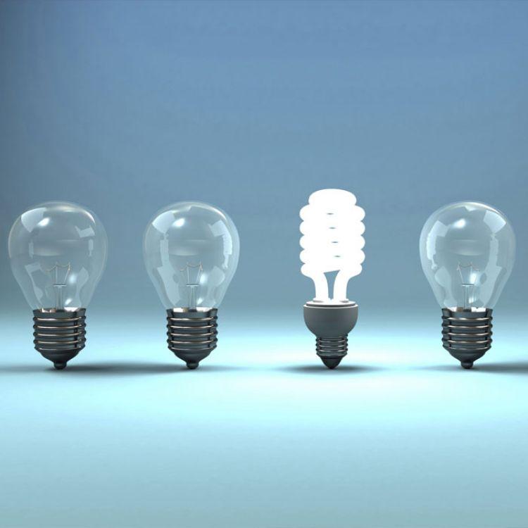 Las lámparas de bajo consumo ayudan al ahorro energético de manera considerable.