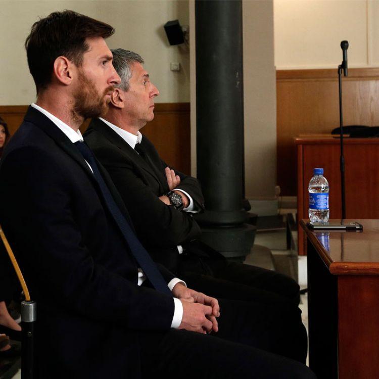 Lionel Messi condenado a 21 meses de prisión por fraude fiscal.