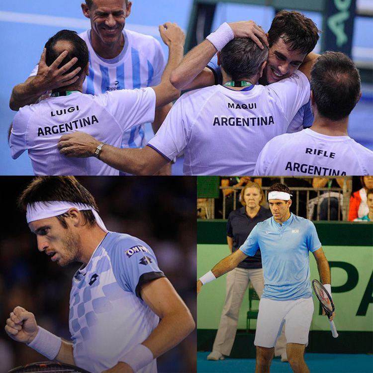Argentina finalista nuevamente de la Copa Davis