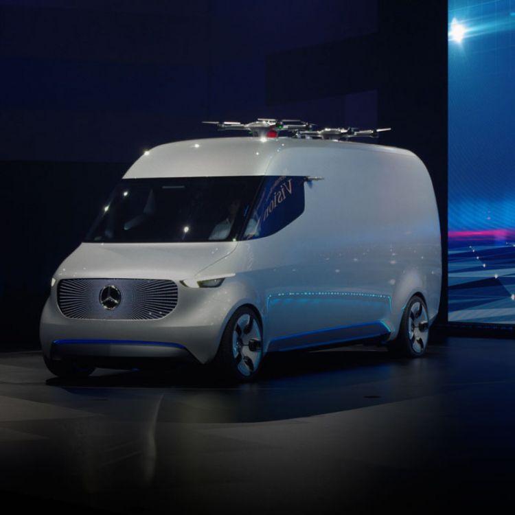Mercedes planea desarrollar un propulsor eléctrico adaptativo que varíe según las necesidades de carga del vehículo, optimizando así su consumo.