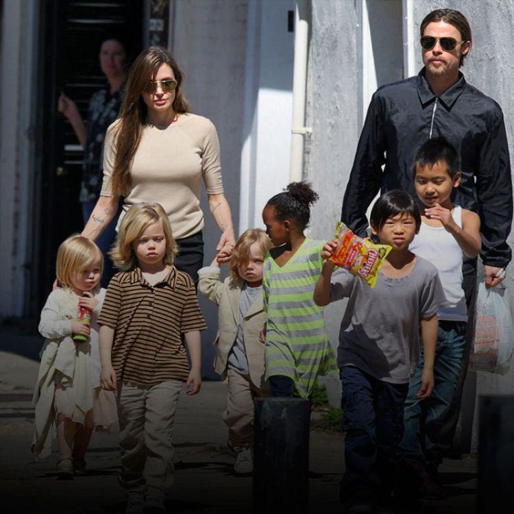 Angelina solicita lacustodia de sus seis hijos y solicita que el actor pueda visitarles según regule el juez.