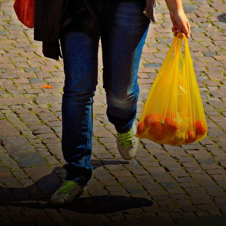 Varios centros comerciales y locales ya utilizan las bolsas de papel o tela ecológica.