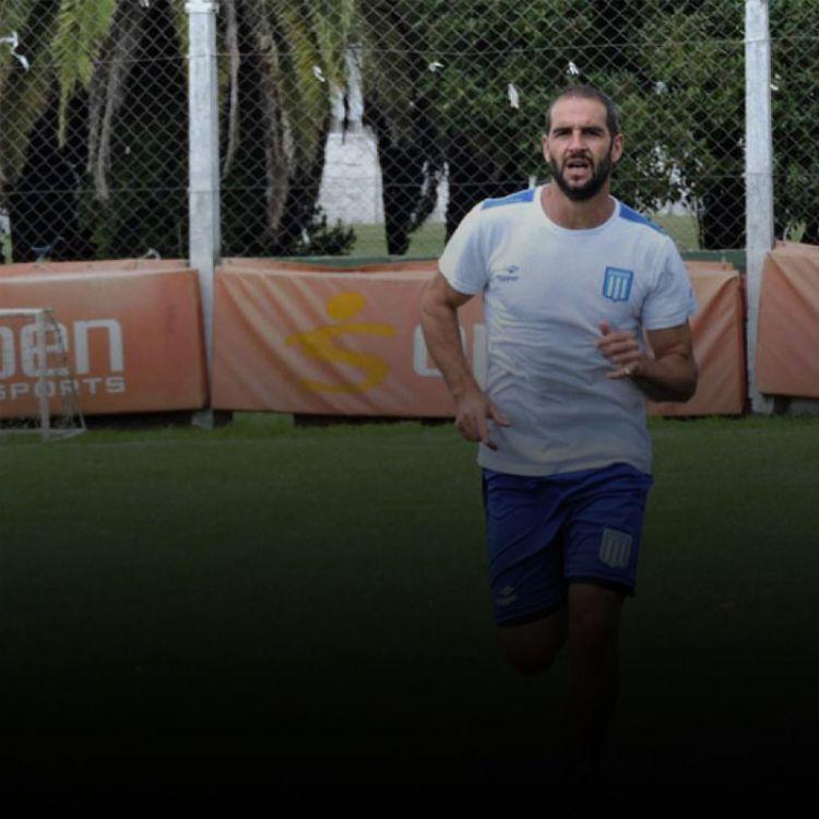 """El entrenamiento de hoy incluyó al """"Pulpito"""" González entre los titulares."""