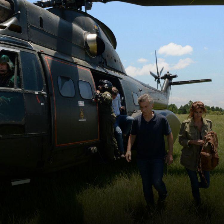 Recientemente la seguridadpresidencial decidió dejar de usar toda la flota aérea, inclusive el helicóptero.