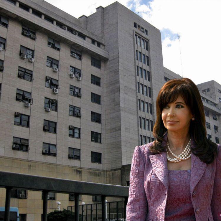 Cristina rechazó el embargo impuesto por US$15.000.000.