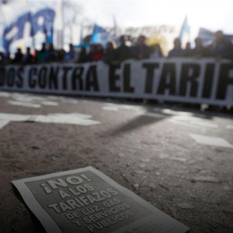 """Alertaron que se quedarán frente a la Casa Rosada hasta ser recibidos por """"autoridades nacionales"""" ."""