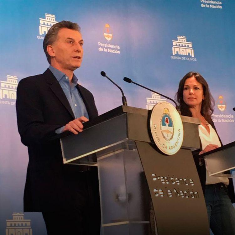 """""""Después de muchos años, queremos menos monólogo y mas diálogo, menos enfrentamiento y más consenso"""", expresó Macri."""