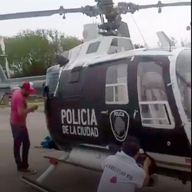 """""""Ningúnhelicópteroploteadoestá autorizado para volar. La idea era mostrar como será la fuerza en una maqueta"""", reconocieron fuentes del Ministerio."""