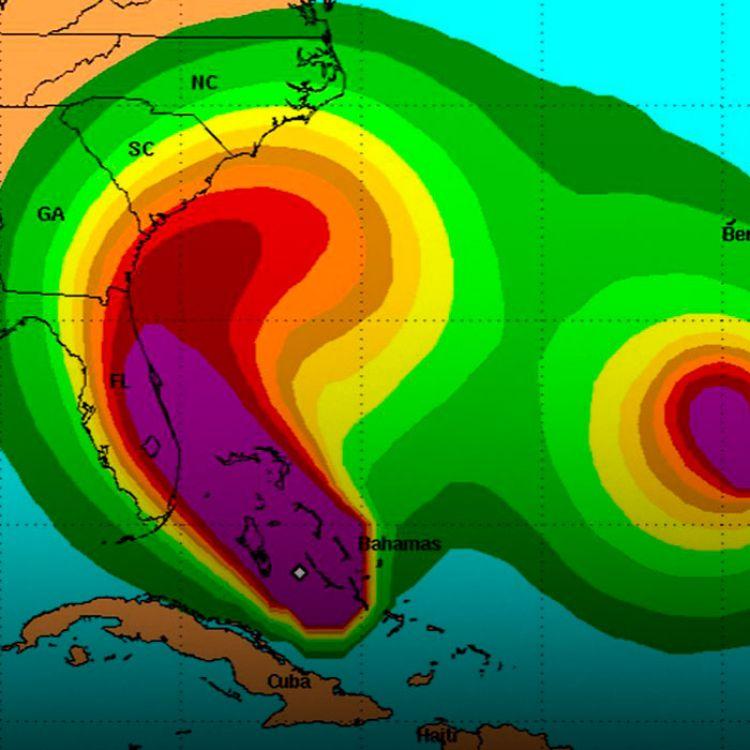 Florida no ha sido golpeado por un huracán importante desde Wilma en 2005.
