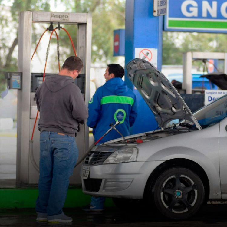 El porcentaje en que esta disminución afectará el precio final del GNC que abonan los consumidores, dependerá de cada estacionero.