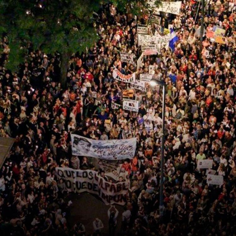 La marcha es una exhortación a las autoridades de los tres poderes del Estado a intensificar medidas contra la inseguridad e impunidad.