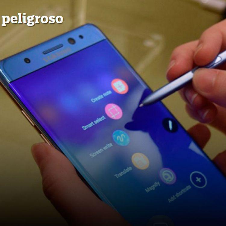 La batería de litio del Samsung Galaxy Note 7 sobrecalentaron los dispositivos. La empresa fue obligada a retirar 2,5 millones de dispositivos.