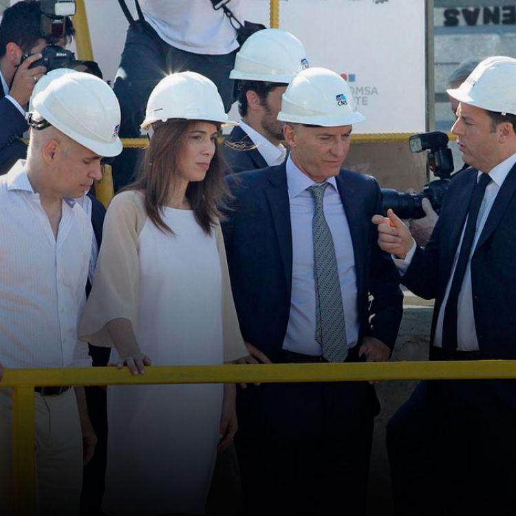 """La tuneladora avanza unos 12 metros por día. El túnel será de 10 metros de diámetro"""", explicó Valenzuela."""
