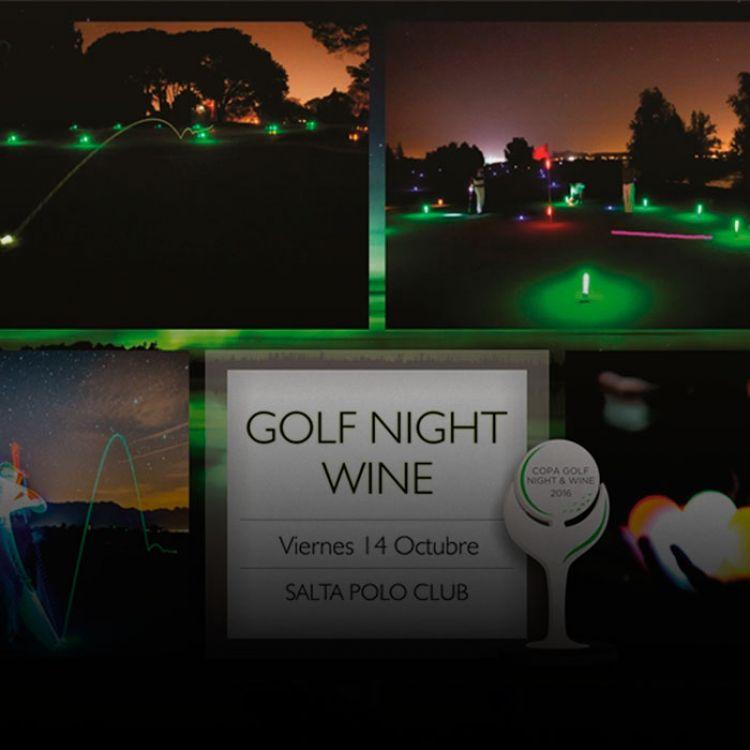 El evento se basa en pelotas luminosas de led que describen el trayecto del tiro, al igual que las zonas del campo de juego.