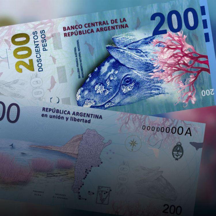 """La nueva familia de nuevos billetes con mayor denominación responde a""""una necesidad práctica para el mejor funcionamiento de cajeros automáticos""""."""