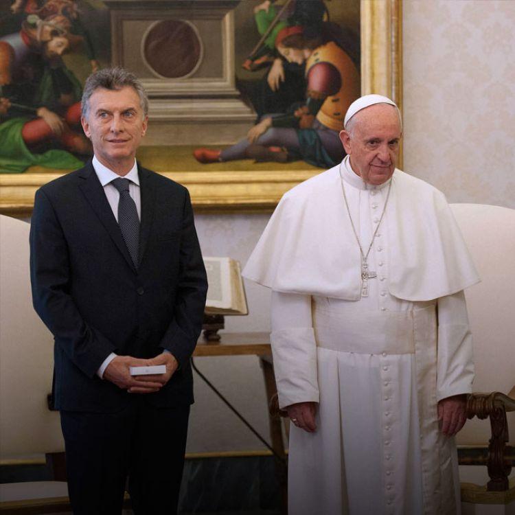 Macri había mantenido su primer encuentro como presidente con el pontífice el 27 de febrero último.