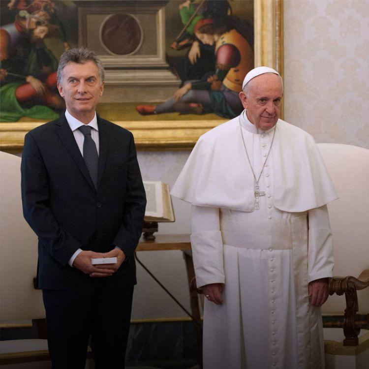 El de hoy es el cuarto encuentro entre ambos desde la entronización de Jorge Mario Bergoglio el 19 de marzo de 2013