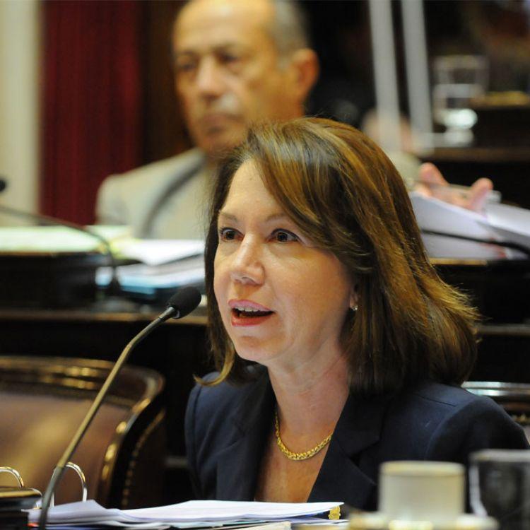 Sonia Escudero dijo que Aníbal Fernandez puso obstáculos en contra de los precursores químicos.