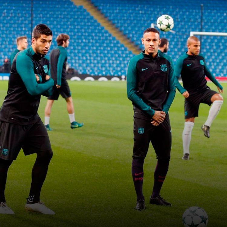 El equipo deMessi, ese mismo día, se enfrentó al Manchester City deSergio Agüero, en Inglaterra. El equipo culé ganó 4-0.