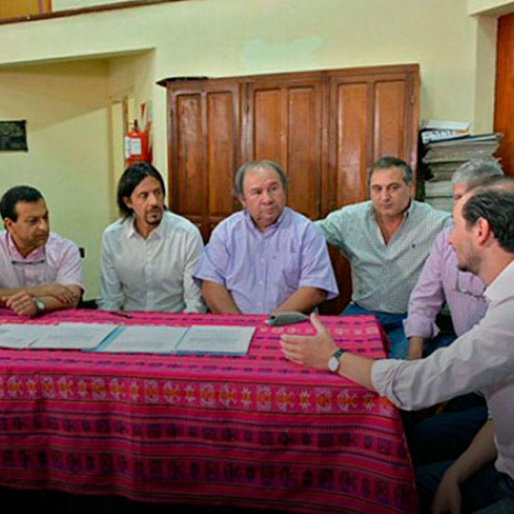 Otros de los temas que se planteó durante el encuentro tienen que ver con la finalización de obras del Fondo de Reparación Histórica.