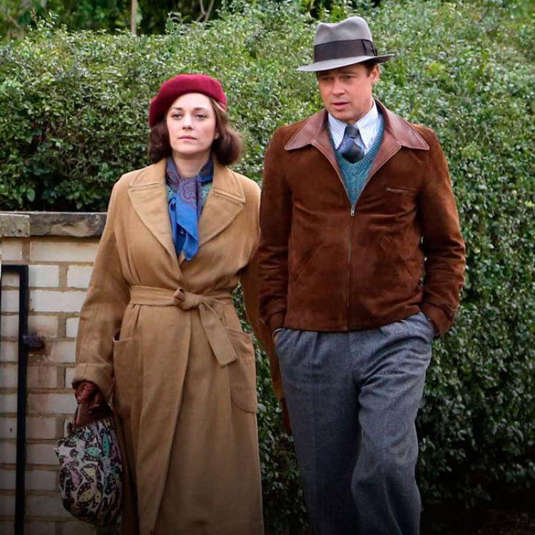Marion Cotillard y Brad Pitt, durante la presentación de 'Allied'. Ambos fueron involucrados sentimentalmente durante el rodaje de la película.