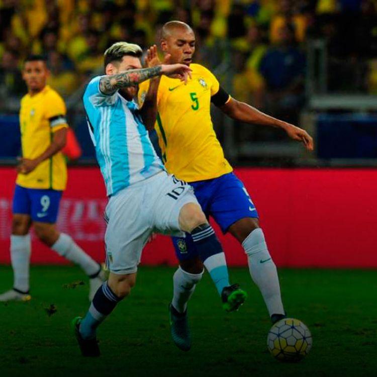 Brasil fue mucho más que la celeste y blanca, quién mostró su peor versión en el último tiempo.