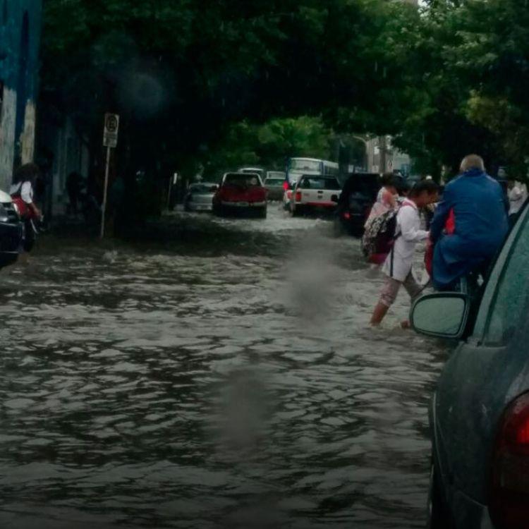 """A pesar de que """"la situación está controlada, esperan que las lluvias continúen hasta el lunes, por eso instamos a los salteños a estar prevenidos""""."""