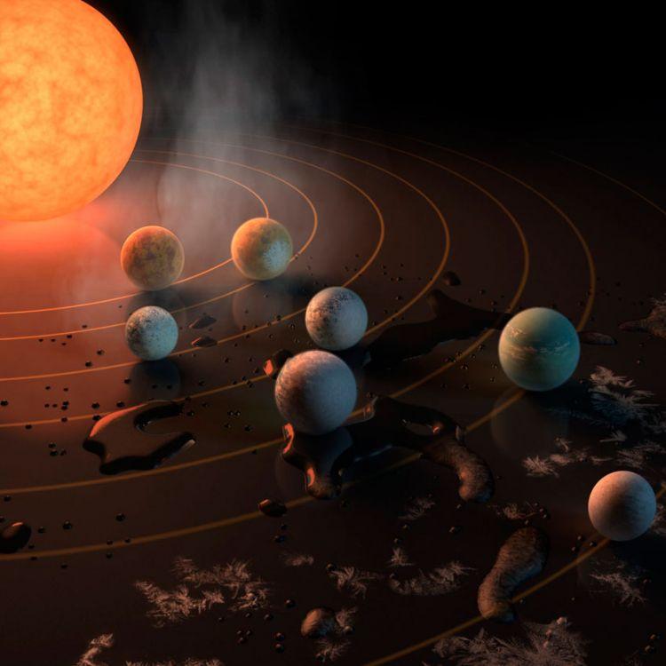 La NASA descubre 7 plantetas similares a la tierra