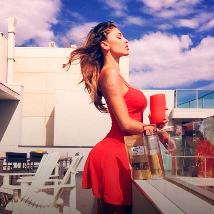 Belén Rodríguez, diosa del MotoGP