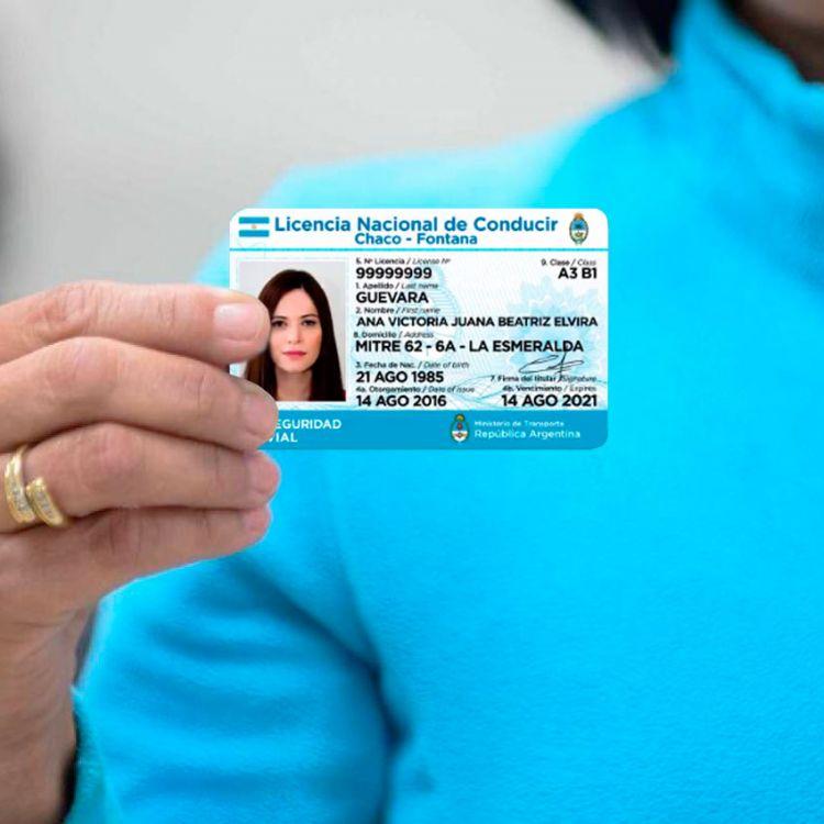 Presentaron la nueva licencia de conducir, más segura y completa