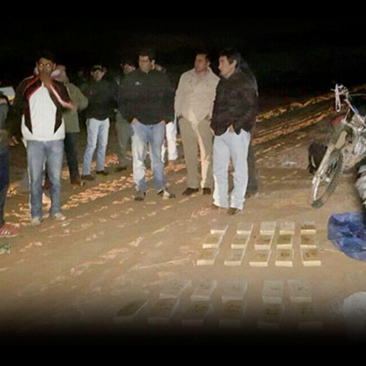 José Ovejero se hizo presente en el lugar donde se incautó el cargamento ilegal.