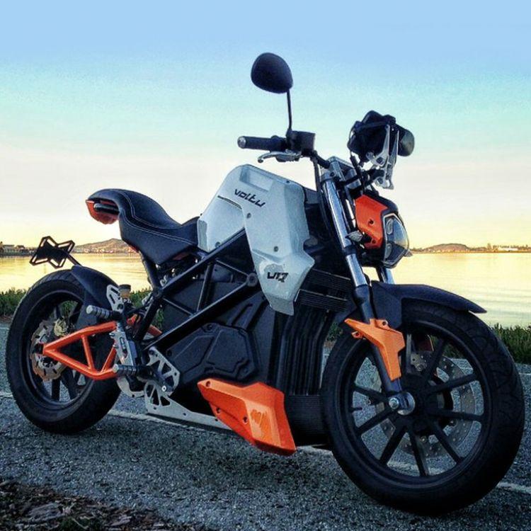 Voltu V1. La moto eléctrica más avanzada creada en Paraná