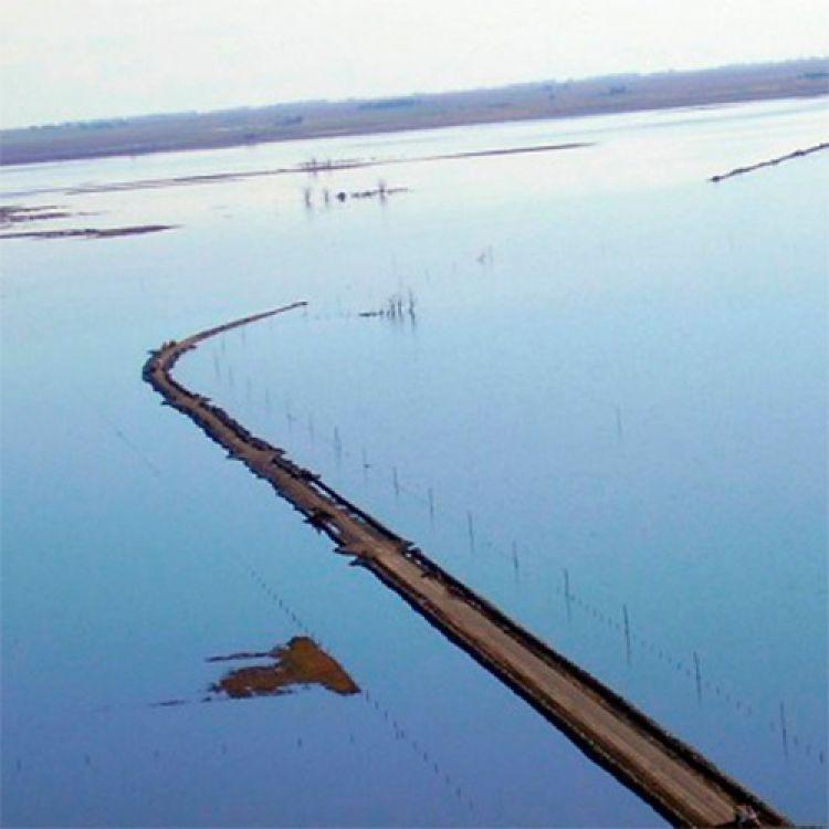 Advierten que el nivel de la laguna Picasa crece medio centímetro por día