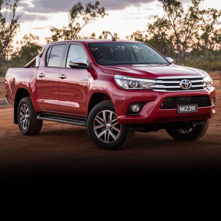 Se destaca la pick up Hilux de Toyota que ocupa el primer lugar en las ventas.