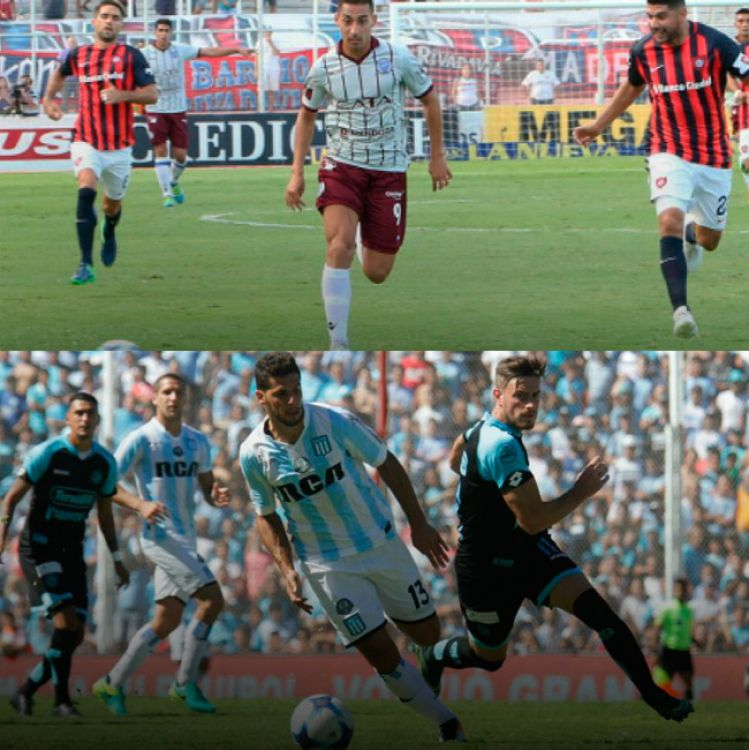 San Lorenzo y Racing no aprovecharon de acortar distancias