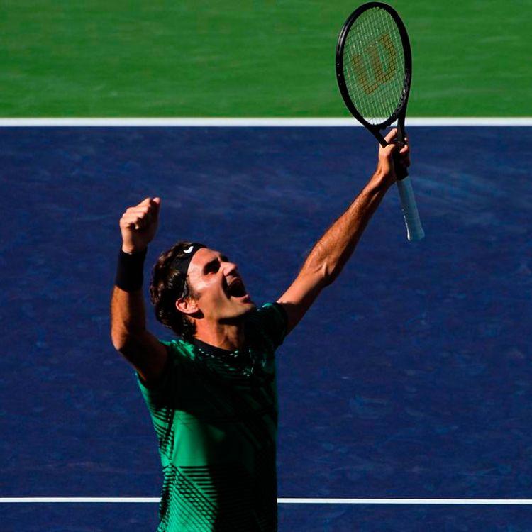 A los 35 años Federer ganó el Masters 1000 de Indian Wells