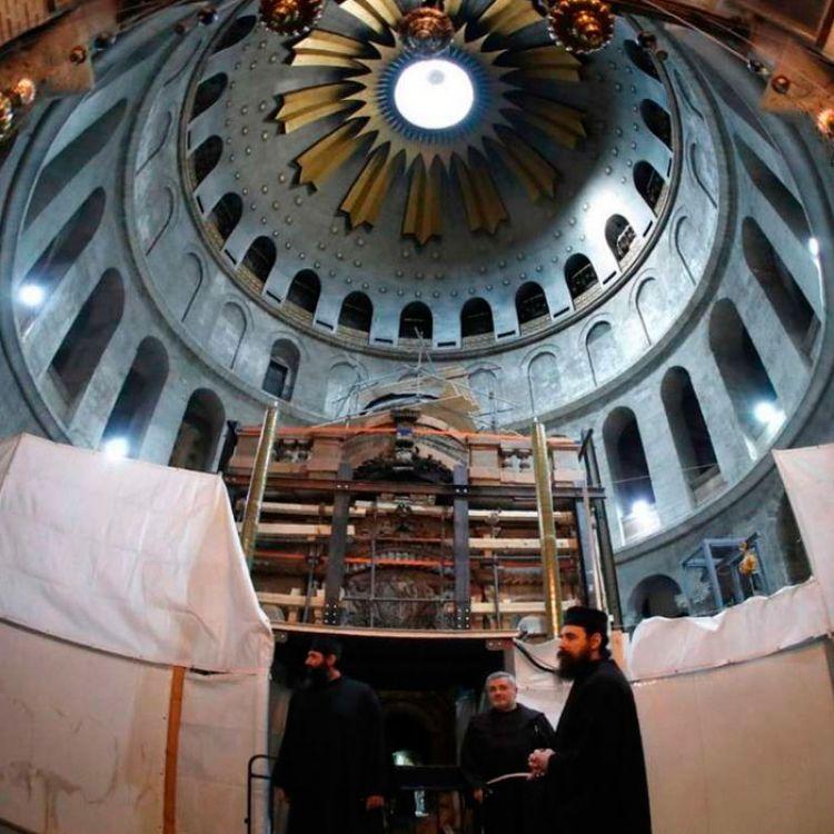 Terminan las obras de restauración de la Tumba de Jesús
