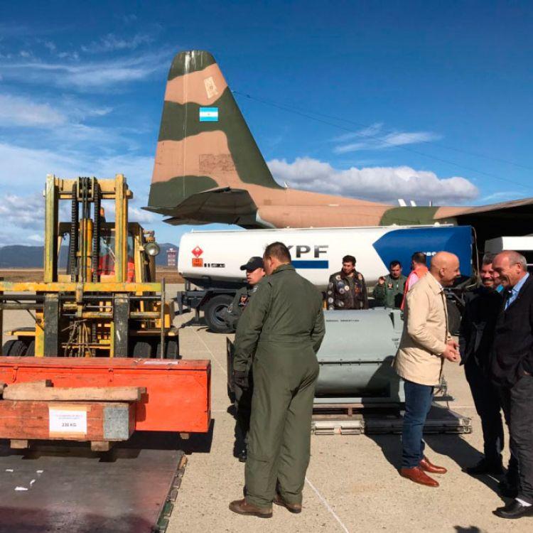 Llegó a Ushuaia el equipamiento y el personal para reparar el gasoducto que abastece a la ciudad