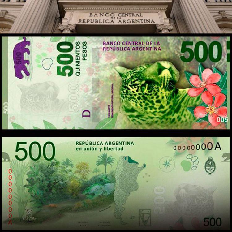 Billetes truchos de 500 pesos