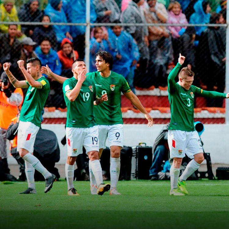 Bolivia le ganó de local 2-0 a un Argentina sin Messi