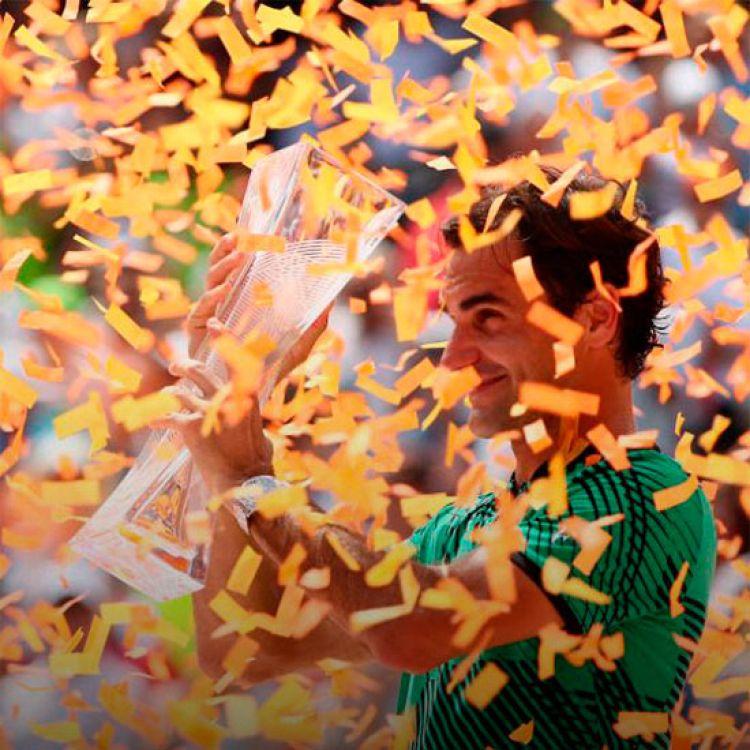 Federer otra vez campeón. Se coronó el Masters 1000 de Miami al vencer a Nadal